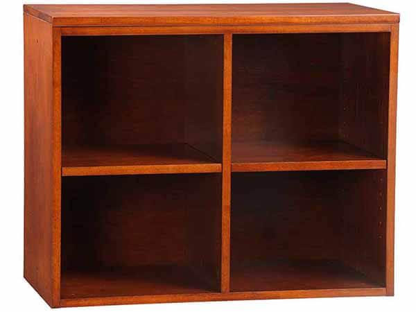 Dual Cubby w/ Adj. Shelves